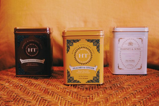 Bijuu's select from HARNEY and SONS tea